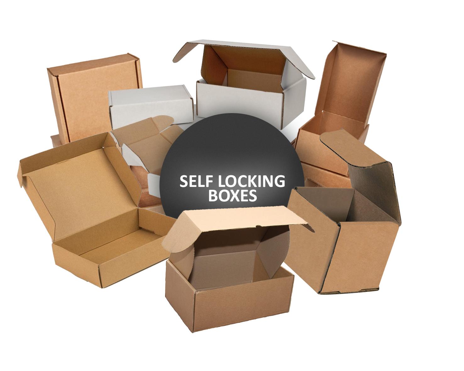 SELF LOCKING BOXES